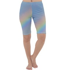 Colorful Natural Rainbow Cropped Leggings
