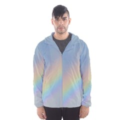 Colorful Natural Rainbow Hooded Wind Breaker (men)