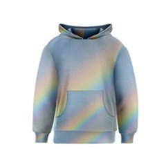 Colorful Natural Rainbow Kids  Pullover Hoodie