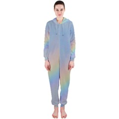 Colorful Natural Rainbow Hooded Jumpsuit (ladies)