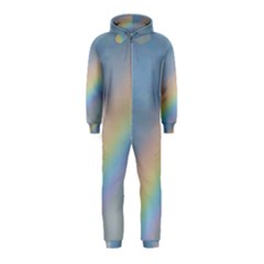 Colorful Natural Rainbow Hooded Jumpsuit (kids)