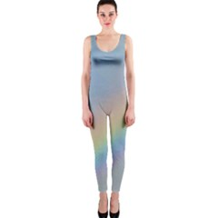 Colorful Natural Rainbow Onepiece Catsuit