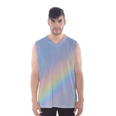 Colorful Natural Rainbow Men s Basketball Tank Top