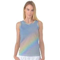 Colorful Natural Rainbow Women s Basketball Tank Top