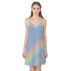 Colorful Natural Rainbow Camis Nightgown