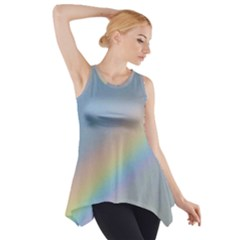 Colorful Natural Rainbow Side Drop Tank Tunic