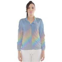 Colorful Natural Rainbow Wind Breaker (women)