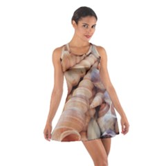 Exotic Tropical Romantic Sea Shells Racerback Dresses