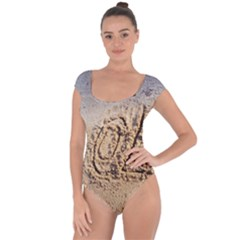 Lol, Lots Of Love On The Beach Short Sleeve Leotard (ladies)