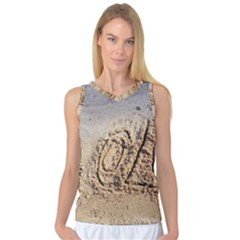 Lol, Lots Of Love On The Beach Women s Basketball Tank Top