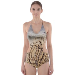 LoL, Lots of Love on The Beach Cut-Out One Piece Swimsuit