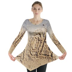 LoL, Lots of Love on The Beach Long Sleeve Tunic