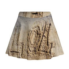 Lol, Lots Of Love On The Beach Mini Flare Skirt