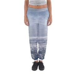Sky Plane View Women s Jogger Sweatpants