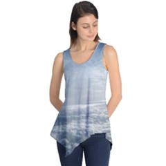 Sky Plane View Sleeveless Tunic