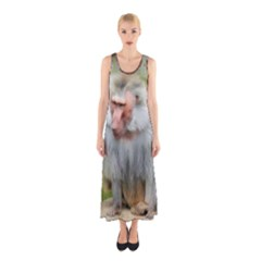 Grey Monkey  Full Print Maxi Dress