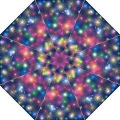 Starlight Shiny Glitter Stars Folding Umbrellas
