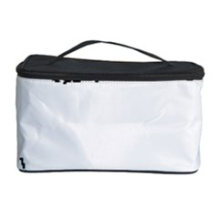 Portrait Black And White Girl Cosmetic Storage Cases