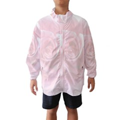 Pink White Love Rose Wind Breaker (kids)