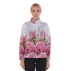 Romantic Pink Flowers Winterwear