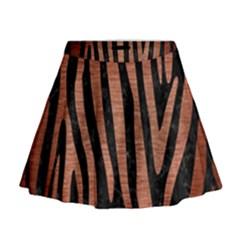 SKN4 BK MARBLE COPPER (R) Mini Flare Skirt