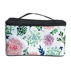 Hand Painted Spring Flourishes Flowers Pattern Cosmetic Storage Cases