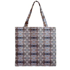Geometric Diamonds Grocery Tote Bag