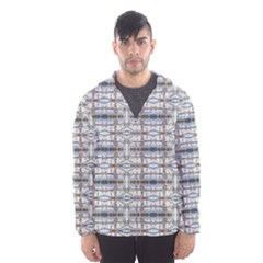 Geometric Diamonds Hooded Wind Breaker (men)