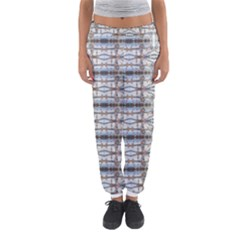 Geometric Diamonds Women s Jogger Sweatpants