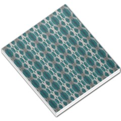 Tropical Blue Abstract Ocean Drops Small Memo Pads