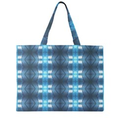 Blue Diamonds Of The Sea 1 Large Tote Bag