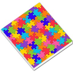 Funny Colorful Jigsaw Puzzle Small Memo Pads