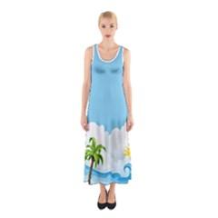 Dress #106 Full Print Maxi Dress