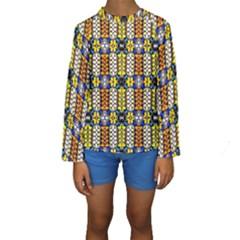 Turtle Kid s Long Sleeve Swimwear