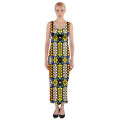 Turtle Fitted Maxi Dress