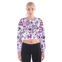 Fms Mash Up Women s Cropped Sweatshirt