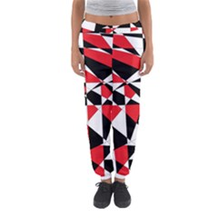 Shattered Life Tricolor Women s Jogger Sweatpants