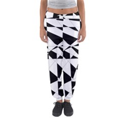 Shattered Life In Black & White Women s Jogger Sweatpants