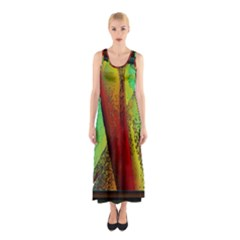 Stained Glass Window Full Print Maxi Dress