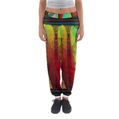 Stained Glass Window Women s Jogger Sweatpants