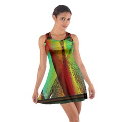 Stained Glass Window Racerback Dresses