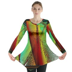 Stained Glass Window Long Sleeve Tunic