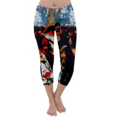 China Girl  Capri Winter Leggings