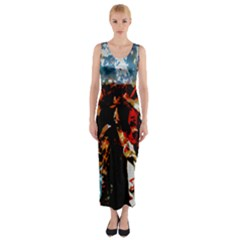 China Girl  Fitted Maxi Dress