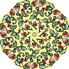 Strawberry Pattern Hook Handle Umbrellas (large)