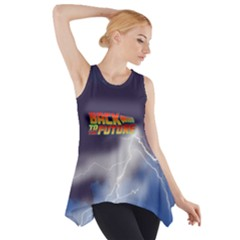 Back To The Future Bttf Side Drop Tank Tunic