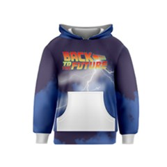 Back to the Future BTTF Kids  Pullover Hoodie