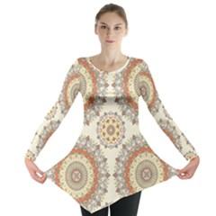 1940s Lace Stitch Long Sleeve Tunic