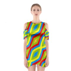 Colorful chains                    Women s Cutout Shoulder Dress