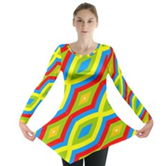 Colorful chains                    Long Sleeve Tunic
